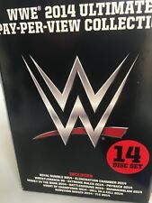 WWE 2014 Ultimate Pay-Per-View Collection (14 Disc Box Set) LIKE NEW REGION 4