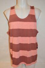G-STAR RAW Man's SPRAY Stripped Sleevless T-shirt NEW Size X-Large Retail: $60