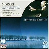 MOZART: VIOLIN CONCERTO NO. 5; PIANO CONCERTO NO.25 [HYBRID SACD] NEW CD