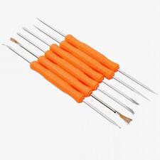 6 en 1 BST-10 à souder Aide Brosse couteau Crochet grattoir Fourche Spike Tool Kit Set UK