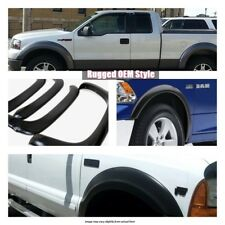APS Rugged Style Fender Flares Set for 1997-2002 Ford Expedition  ABS Plastic
