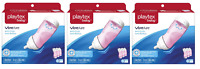 Playtex Baby VentAire Bottle, Prevents Colic & Reflux, PINK, 9 Oz - 9 Bottles