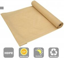90% Shade Cloth Privacy Screen Outdoor Knitted  Sun Wind Block Fabric with Clips
