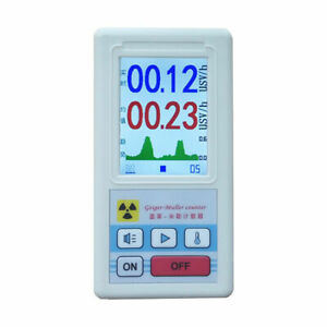 Geiger Nuclear Radiation Test Meter Counter  β Y X-Ray Dosimeter Marble Detector