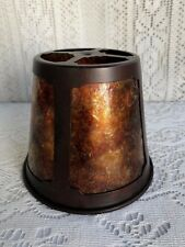 ***** VINTAGE MICA WALL SCONCE LAMP SHADE *****