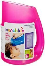 Munchkin Baby Toddler Soft Rim Shampoo Hair Rinser - Keep Water Out of Eyes Pink