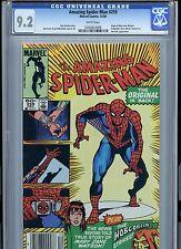 Amazing Spider-man 259 (1984 Marvel) CGC 9.2 White pages, Mary Jane origin!!