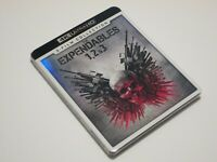 The Expendables 1 2 & 3 4K Ultra HD 3-Film Collection with Slipcover