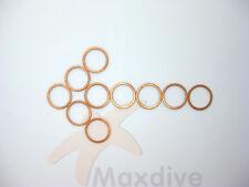 10pcs/lot Scuba Valve Bonnet Gasket Copper Gasket # BG06-2C