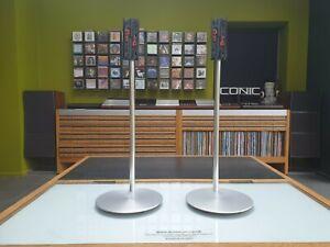 Bang & Olufsen Original BeoLab 4000 Speaker Floor Stands+mounting brackets B&O