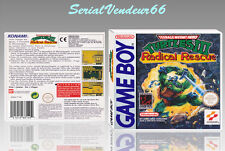 "BOITIER du jeu ""TURTLES 3 RADICAL RESCUE "", GAME BOY. FR. HD. SANS LE JEU."