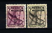 ST. PIERRE AND MIQUELON - 1938 - Segnatasse