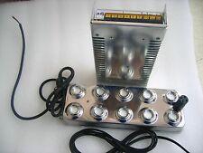 Ultrasonic mist maker fogger 10 head humidifier & transformer 110V  220V t
