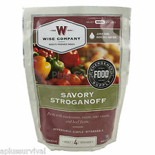 Cheesy Lasagna Wise Foods 4 Serving Food Ration Pouch
