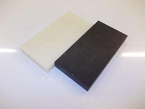 20 mm cast Nylon Plate 100 mm x 100 mm Engineering block-Machining-milling-etc