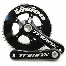 FSA Vision Trimax BB30/PF30 TT/Triathlon Road Bike Crankset 52/38T 160mm //Black