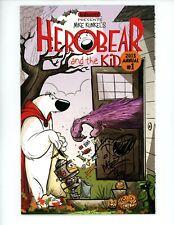 Herobear and the Kid Annual #1 NM+ Signed Sketch by Mike Kunkel's 2013 Holloween