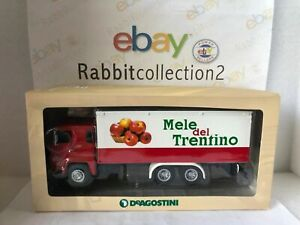 """Die Cast Truck Period """" Scania 140 LB V8 1969 Apples Of Trentino """" 1/43 Test"""