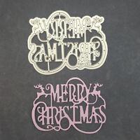 metal cutting dies stencil scrapbook album paper embossing craft christmas BR