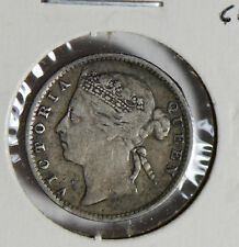 Straits Settlements 1889 10 Cents silver  S0256 combine shipping