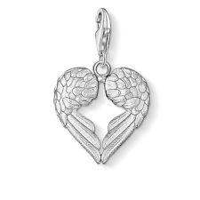 Genuine Thomas Sabo Charm Club Winged Heart Charm CC613