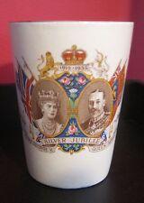 King George V & Queen Mary Silver Jubilee Beaker