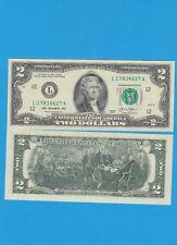 USA JEFFERSON Billet de 2 dollars 2003 San-Fransisco  Billet porte bonheur