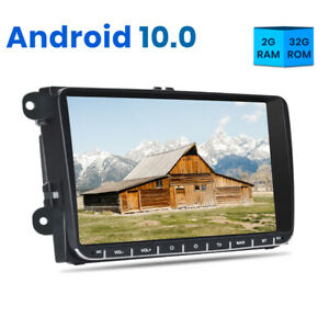 Car Radio Stereo DVD GPS DAB+ Android 10.0 For Golf Passat Caddy Polo Tiguan