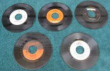 Lot Of (5) 45rpm Records By:Eagles/Dr Hook/Fats Domino/Roberta Flack/Defranco Fa
