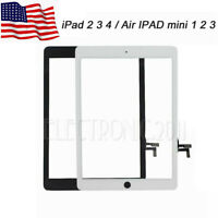 Touch Screen Glass Digitizer Replacement for Apple iPad 3 5/Air iPad mini 1 2 3