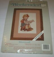 Weekenders Counted Cross Stitch Kit 02802 Hummel What's New Girl Reading NEW