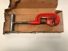 """Ridgid No. 1A 1/8"""" To 1-1/4"""" Heavy Duty Pipe Cutter NEW *Free Shipping*"""