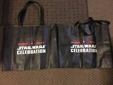 "Star Wars Celebration 2017 Orlando Tote Bags, Qty 2 18"" x 14"""