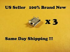 3 x Micro USB Charging Port For Trio Stealth G5 10 Tablet  Replacement Part HS