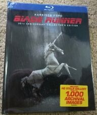 New Blade Runner 5 Cuts (Blu-ray Digibook 3-Disc Set, 30th Anniversary) Rare Oop