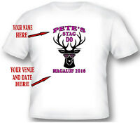 Stag Do - Custom T Shirt Printing Personalised Stag Hen Party