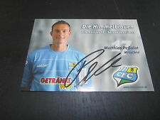29520 Peßolat 10-11 Chemnitzer FC CFC original signierte Autrogrammkarte