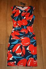 NEW&TAGS PHASE EIGHT stretch dress SIZE 10 pencil bodycon pin up midi RRP £99.00
