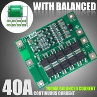 new 4S 40A 14.8V 16.8V Li-ion Lithium 18650 Battery Balanc Board BMS PCB V6C4