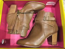 Womens Kenneth Cole Reaction - Lana Natural Ankle Boots Size 6