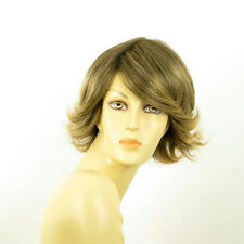 short wig for women brown wick golden ref EDWIGE 6t24b PERUK