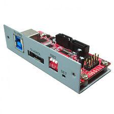 USB 3.0|eSATA 6Gb To Dual SATAIII (6Gb) RAID Bridge Board RAID0/1/JBoD UB-203RM
