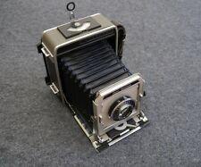 GRAFLEX SUPER GRAPHIC 4x5 CAMERA w/OPTAR f4.7/135mm LENS