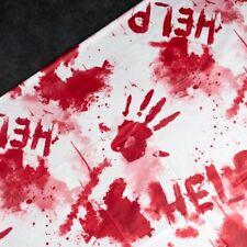 Halloween Sangriento Mantel Fiesta Noche Decoración espeluznante Cubierta asesino de asesinato