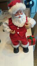 Vintage 1999 Rock A Long Santa ~ Singing & Dancing Volume Controlled Santa
