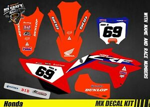 Kit Deco Motorcycle For / MX Decal Kit For Crf - Replica 2020