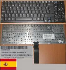 Qwerty Keyboard Spanish LG LW60 LW-60 SP MP-03756E0-1611 3823B01086B Black