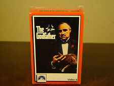 THE GODFATHER - RARE VIDEO8 Video 8mm 2-Tape Set NEW SEALED OOP MOVIE