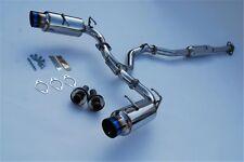 Invidia Toyota GT86/Subaru BRZ N1 Cat-Back Exhaust Titanium Tips HS12SSTGTT