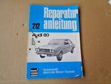 Audi 80 B1 Reparaturanleitung Querschnitt durch die Motor-Technik 212